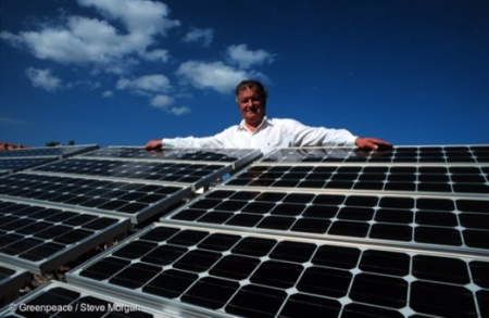 Greenpeace Greece Solar Panels
